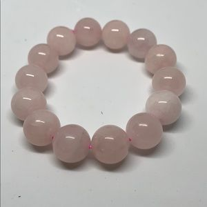Rose quartz natural bracelet